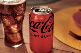 Coke zero sugar lead